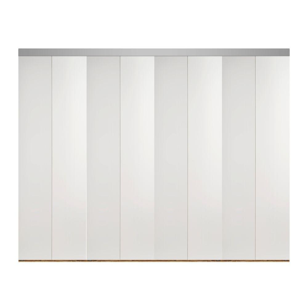 Primed 32 x 84 interior closet doors doors windows the 144 in x 84 in smooth flush primed solid core mdf planetlyrics Image collections