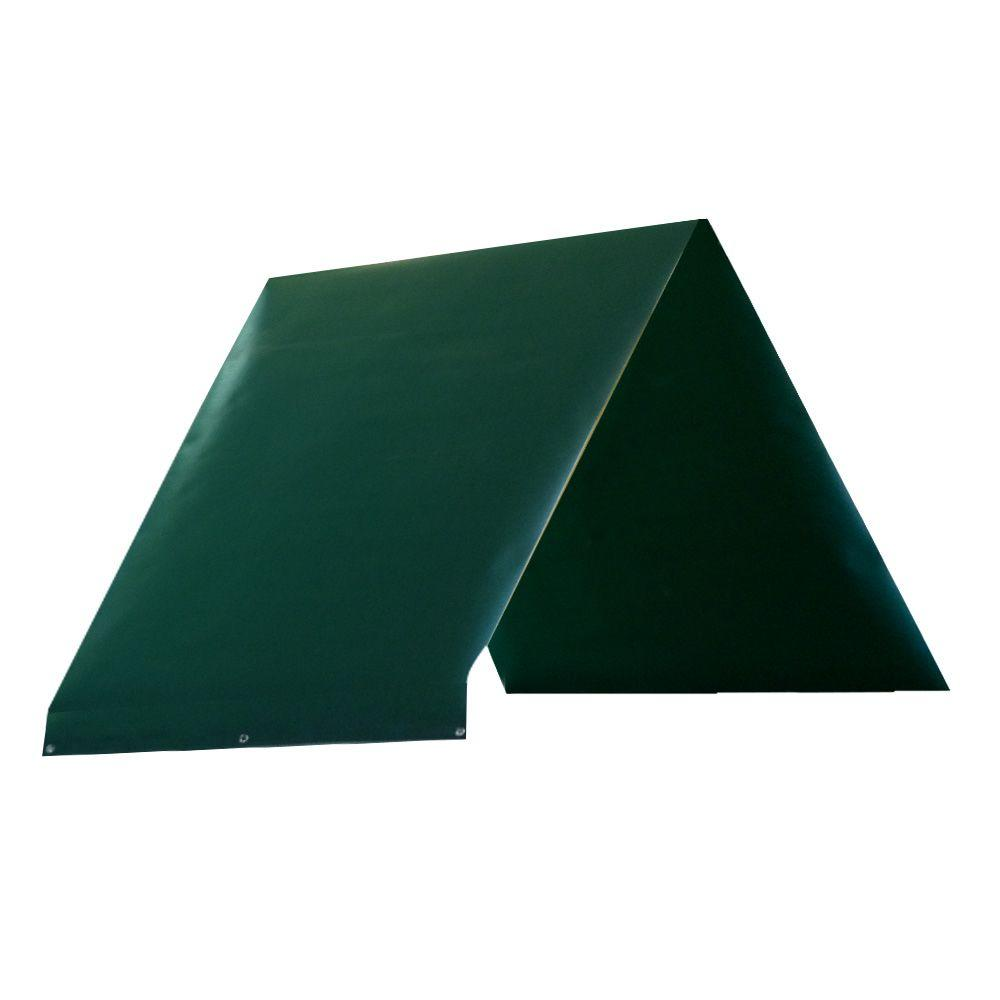 Green Playset Tarp Heavy Duty Durable Sun Protection