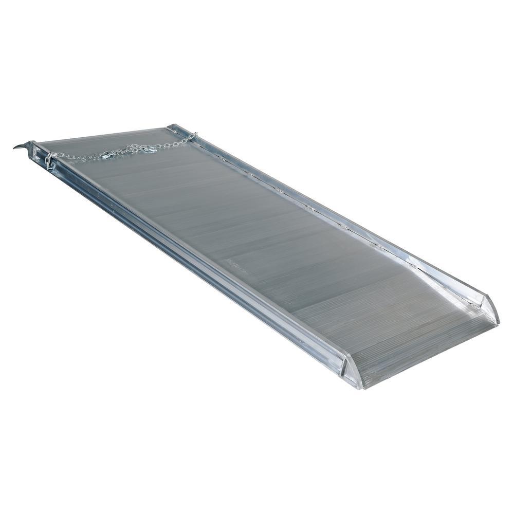 Walking The Ramp For Home Decor Ideas: Vestil 84 In. X 38 In. Aluminum Walk Ramp Overlap Style