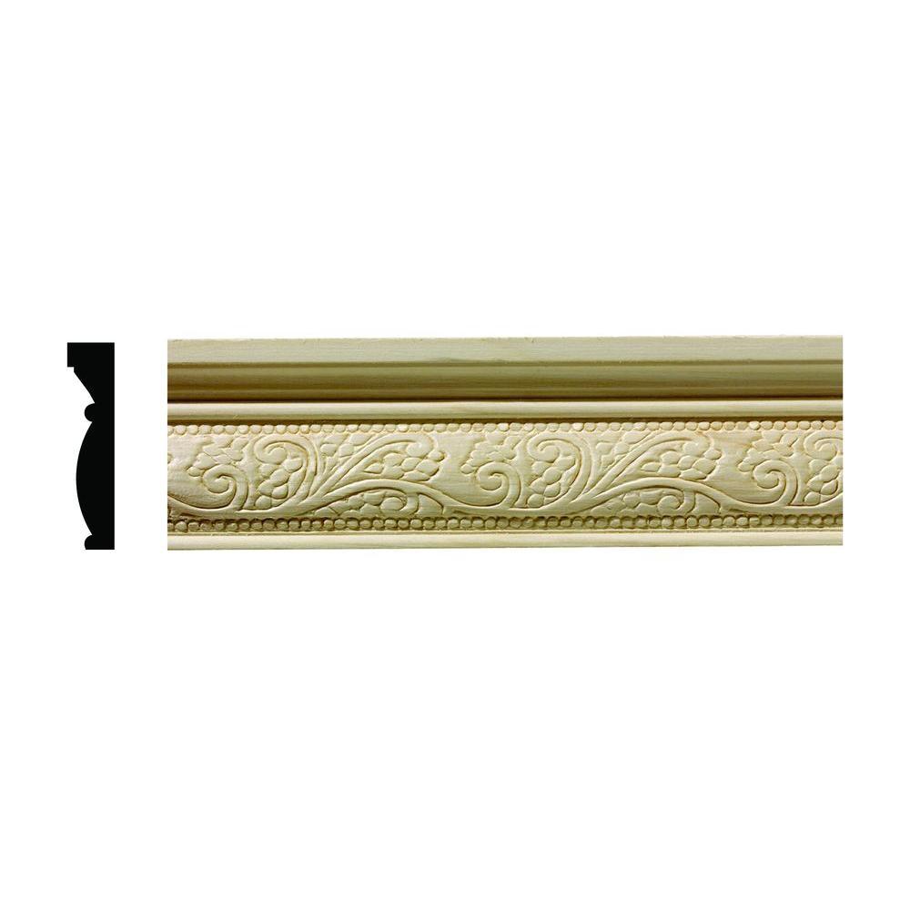 Ornamental Mouldings 1/2 In. X 2-1/4 In. X 96 In. Hardwood
