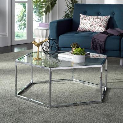 Coffee Table - Glass - Accent Tables - Living Room Furniture ...