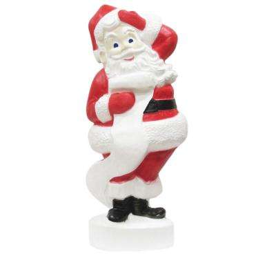 43 in. Large Santa with Light