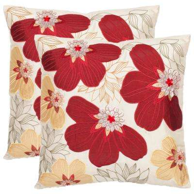 Victorian Florals Pillow (2-Pack)