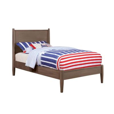 Lennart I Twin Bed in Gray finish
