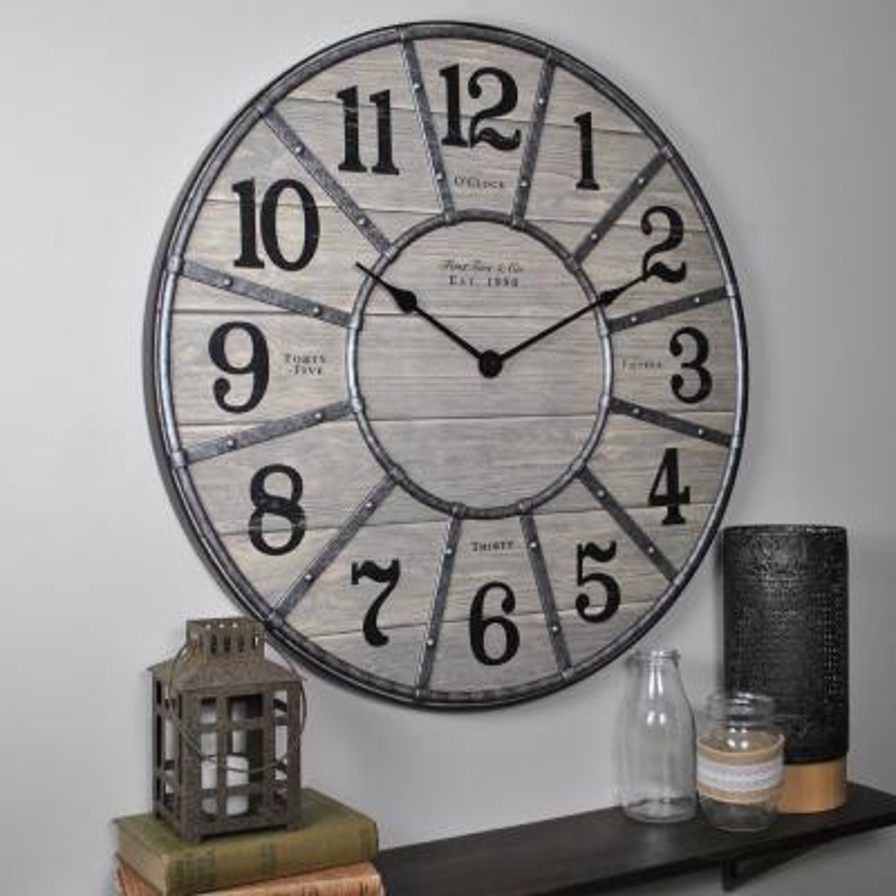 Cooper 27 in. Wall Clock