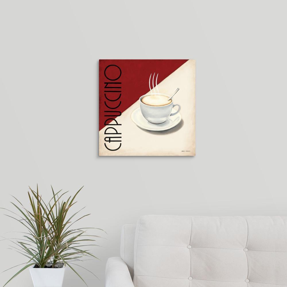 "Canvas Art Print /""Cafe Brazil II/"""