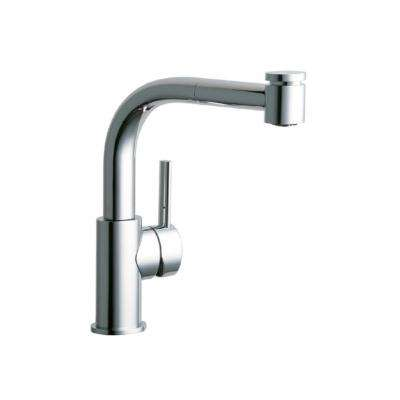 Mystic Single-Handle Pull-Out Sprayer Bar Faucet in Chrome