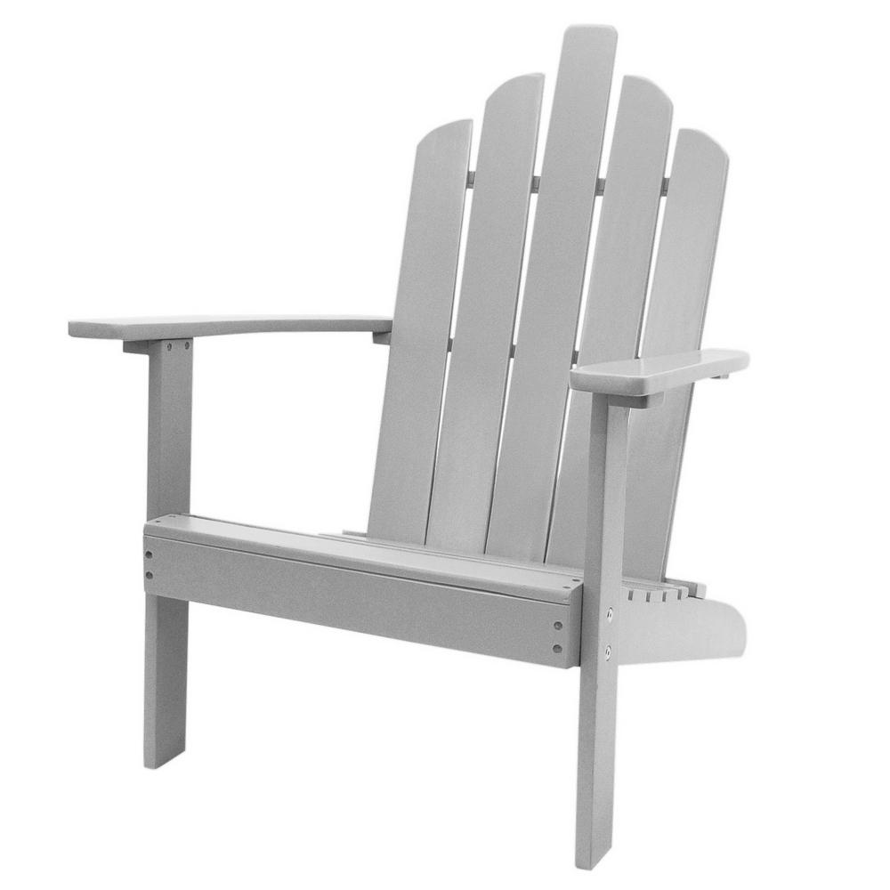 Strange Westin Outdoor Marley Gray Wood Adirondack Outdoor Patio Chair Gamerscity Chair Design For Home Gamerscityorg