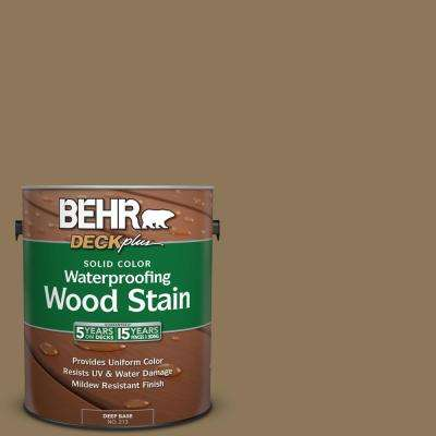 1 gal. #SC-153 Taupe Solid Color Waterproofing Exterior Wood Stain