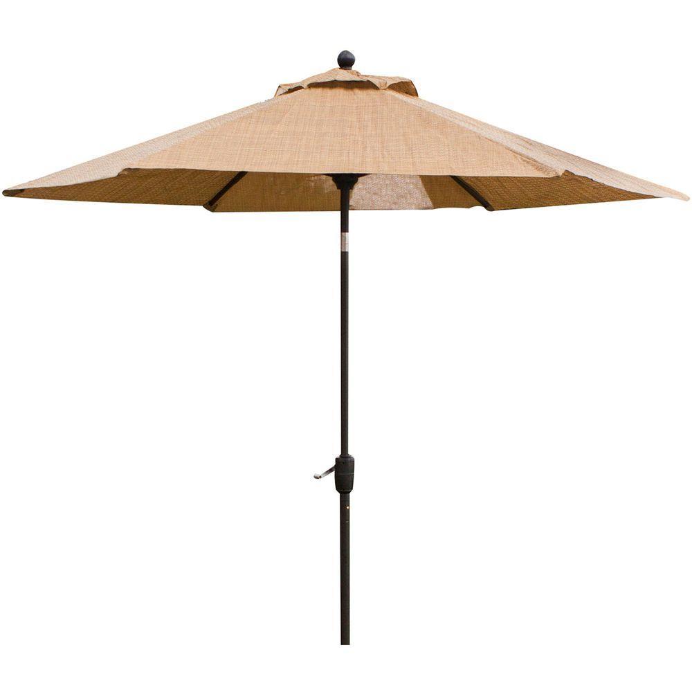 Monaco 9 ft. Tiltable Patio Umbrella