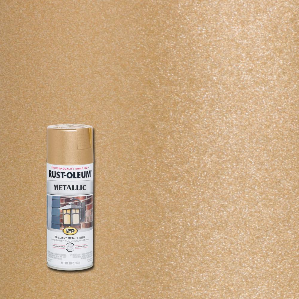 11 oz. Vintage Metallic Rose Gold Protective Enamel Spray Paint