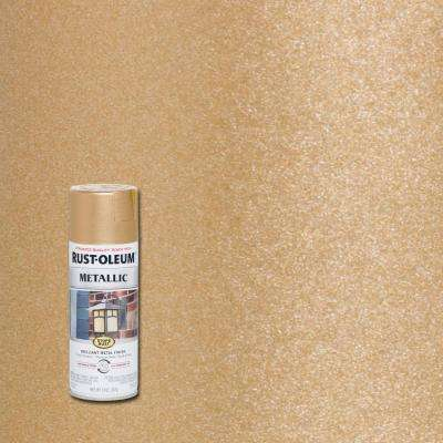 11 oz. Vintage Metallic Rose Gold Protective Spray Paint (6-Pack)