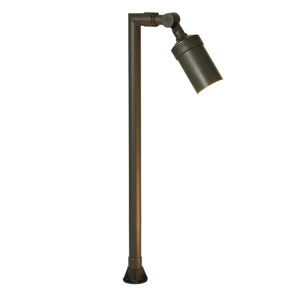 6-Watt Antique Bronze Outdoor Integrated LED 2700K Soft White Landscape Path