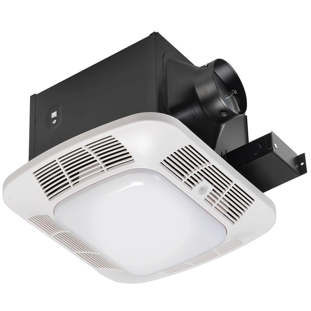 Hoover 110 CFM Ceiling Exhaust Bath Fan with CFL and Night Lights-DISCONTINUED