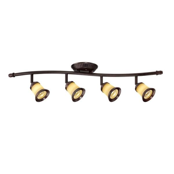 Hampton Bay 4 Light Antique Bronze