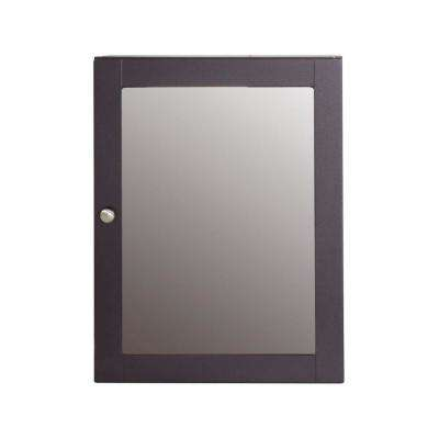 Del Mar 20 in. W x 26 in. H Surface-Mount Medicine Cabinet in Espresso