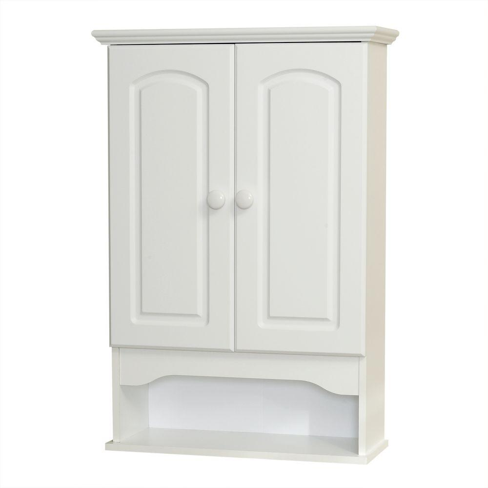 Zenna Home Hartford 21 in. W x 30 in. H x 8 in. D Bathroo...