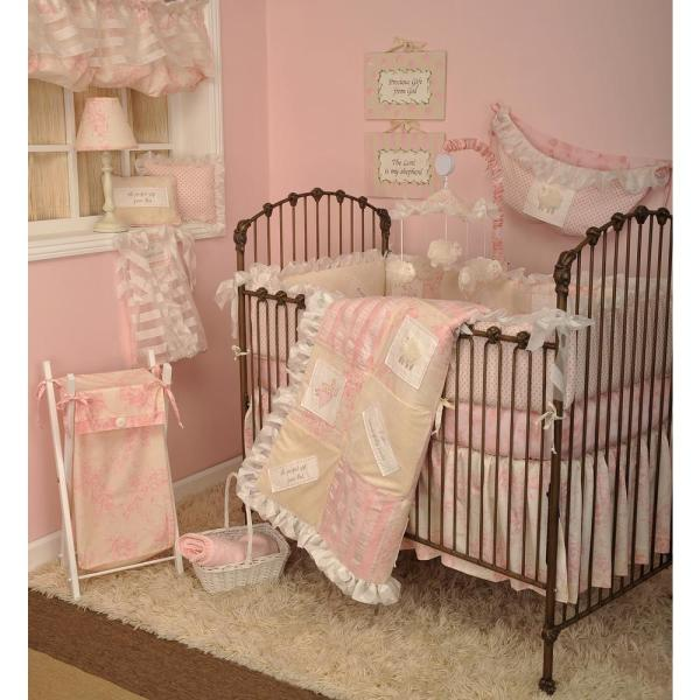 Cotton Tale Designs Heaven Sent Girl, Tie Dye Nursery Bedding