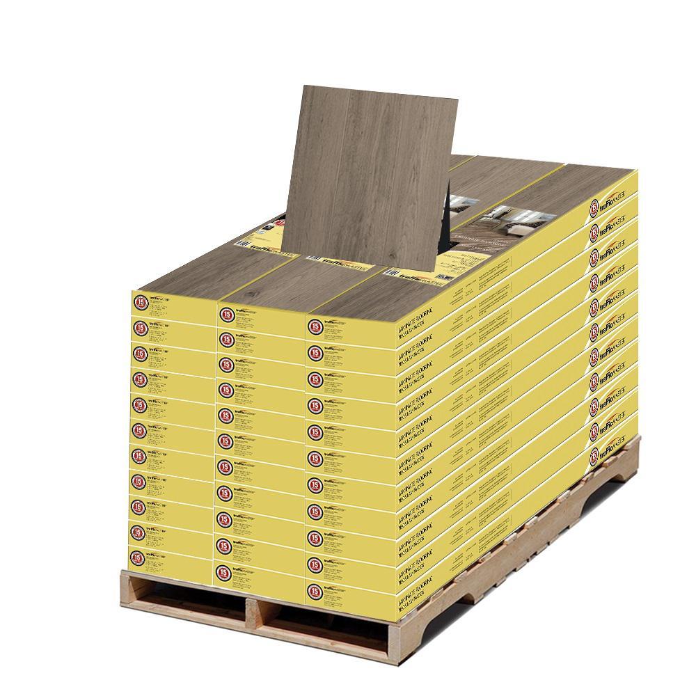 Grey Oak 7mm Thick x 8.03 in. W x 47.64 in. L Laminate Flooring Pallet (789.03 sq. ft.)