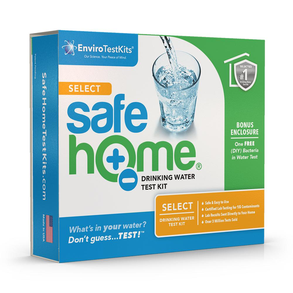 Safe Home Lab Tested Select Water Test Kit Sh Swt1 The Home Depot