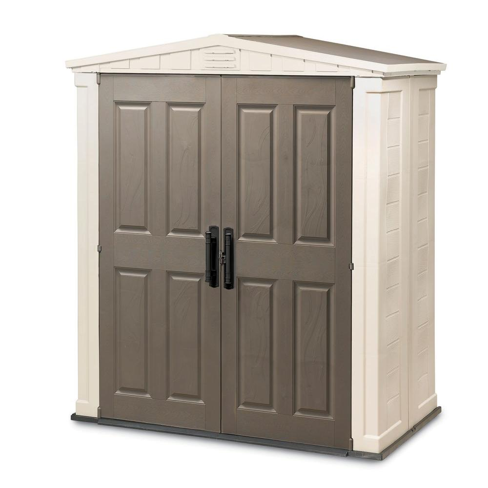 Keter Apex 6 ft. x 3 ft. Outdoor Storage Building-DISCONTINUED