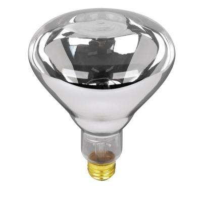 250-Watt Soft White (2700K) BR40 Dimmable Incandescent 120-Volt Heat Lamp Light Bulb