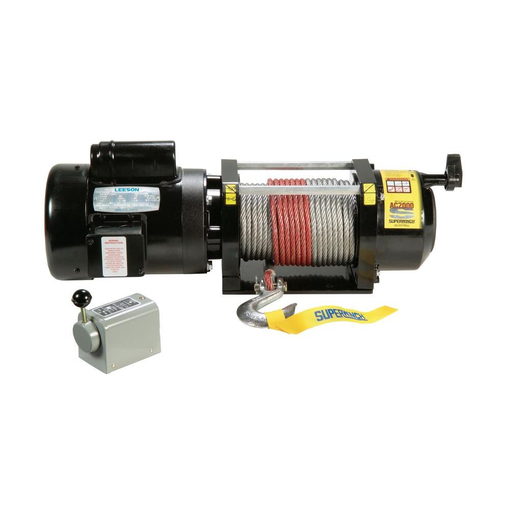superwinch winches 1723 64_1000 superwinch ac2000 115 volt ac industrial winch with free spooling superwinch lt4000 wiring diagram at fashall.co