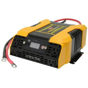 PowerDrive 2000-Watt Power Inverter with 4 AC 2 USB APP with Bluetooth by PowerDrive
