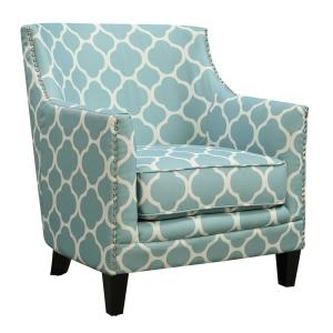 Wonderful +6. Deena Aqua Accent Chair