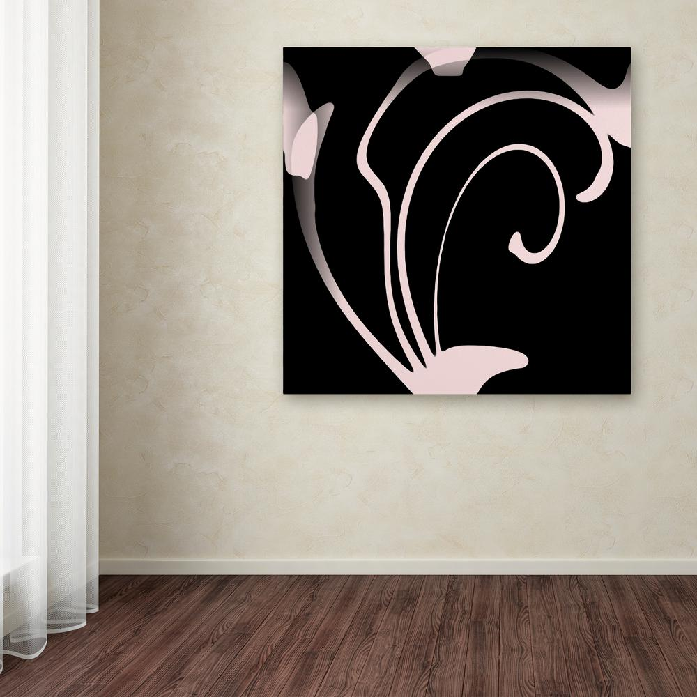 """Trademark 35 in. x 35 in. """"Daring Deco Iii"""" by Color Bake..."""