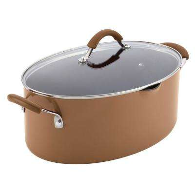 Cucina 8 Qt. Aluminum Stock Pot with Lid