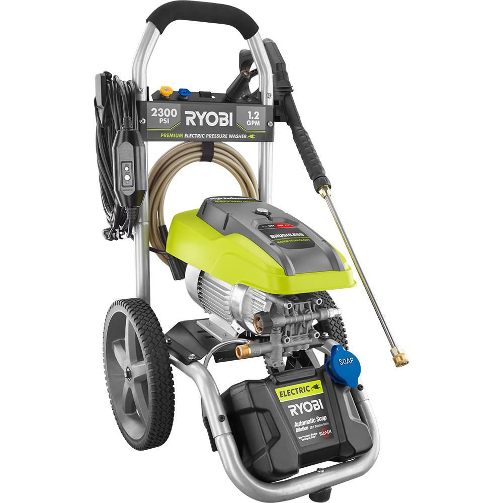 Electric Pressure Washer 2300 Psi 1 2 Gpm High Performance