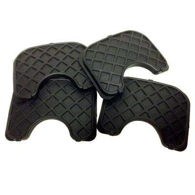 3.25 in. Wide Black Panel for Flower Pot (4-Pack)