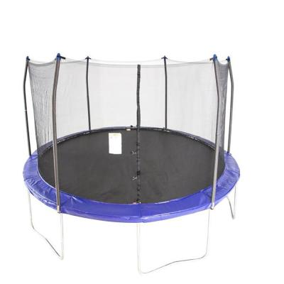 12 ft. Round Trampoline Set Net Head Cover with Safety Enclosure and Ladder