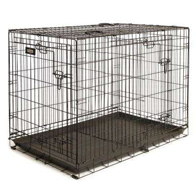 42 in. D x 30 in. H x 28 in. W Extra Large Wire Dog Crate