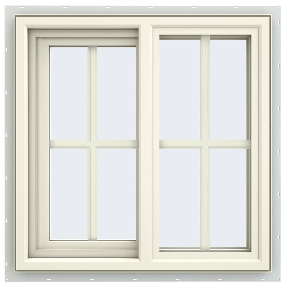 23.5 in. x 23.5 in. V-4500 Series Left-Hand Sliding Vinyl Window
