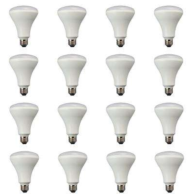 65W Equivalent Soft White BR30 Non Dimmable LED Flood Light Bulb (12-Pack)