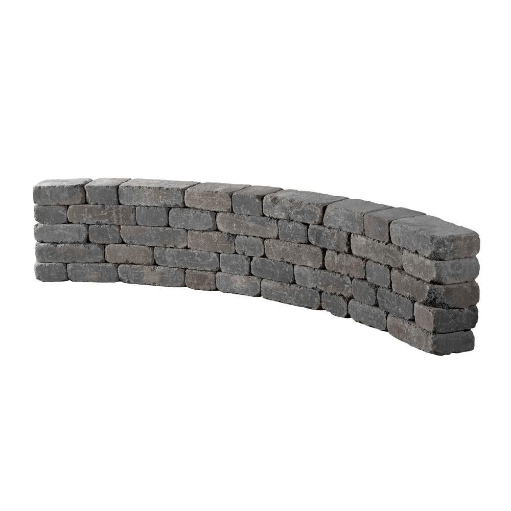 Marvelous Necessories 9 Ft Bluestone Riverland Seat Wall Frankydiablos Diy Chair Ideas Frankydiabloscom