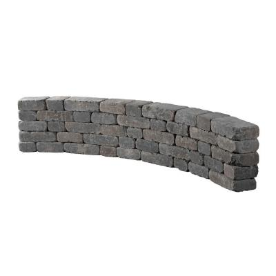 9 ft. Bluestone Riverland Seat Wall