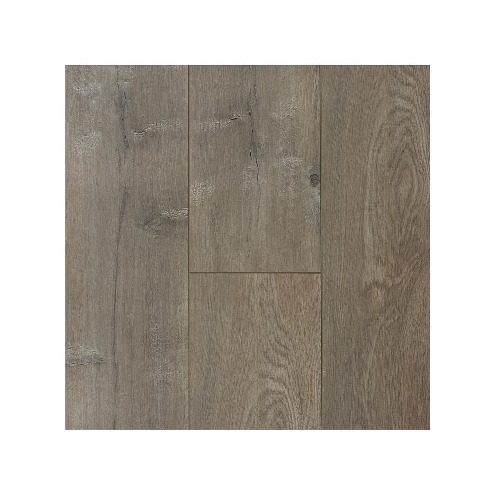 Take Home Sample - Titanium 12 mm Laminate Flooring 7.68 in. W x 8 in. L