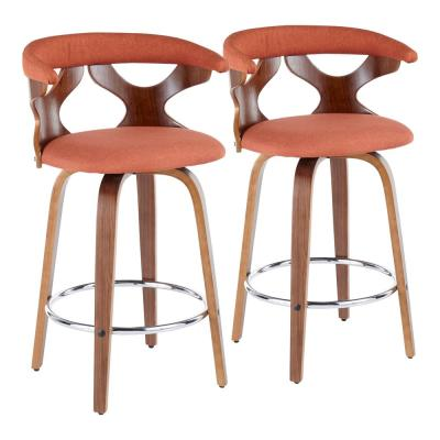Fine Orange Bar Stools Kitchen Dining Room Furniture The Pabps2019 Chair Design Images Pabps2019Com