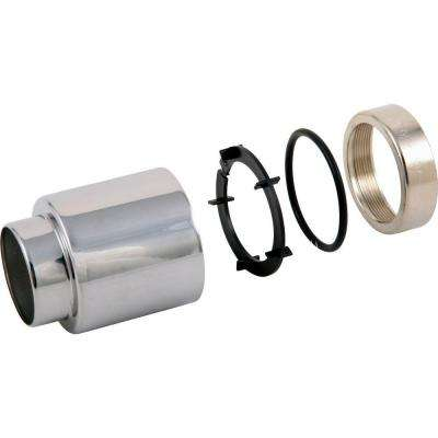 14 Series 2-3/16 in. Tub and Shower Trim Sleeve Assembly in Chrome