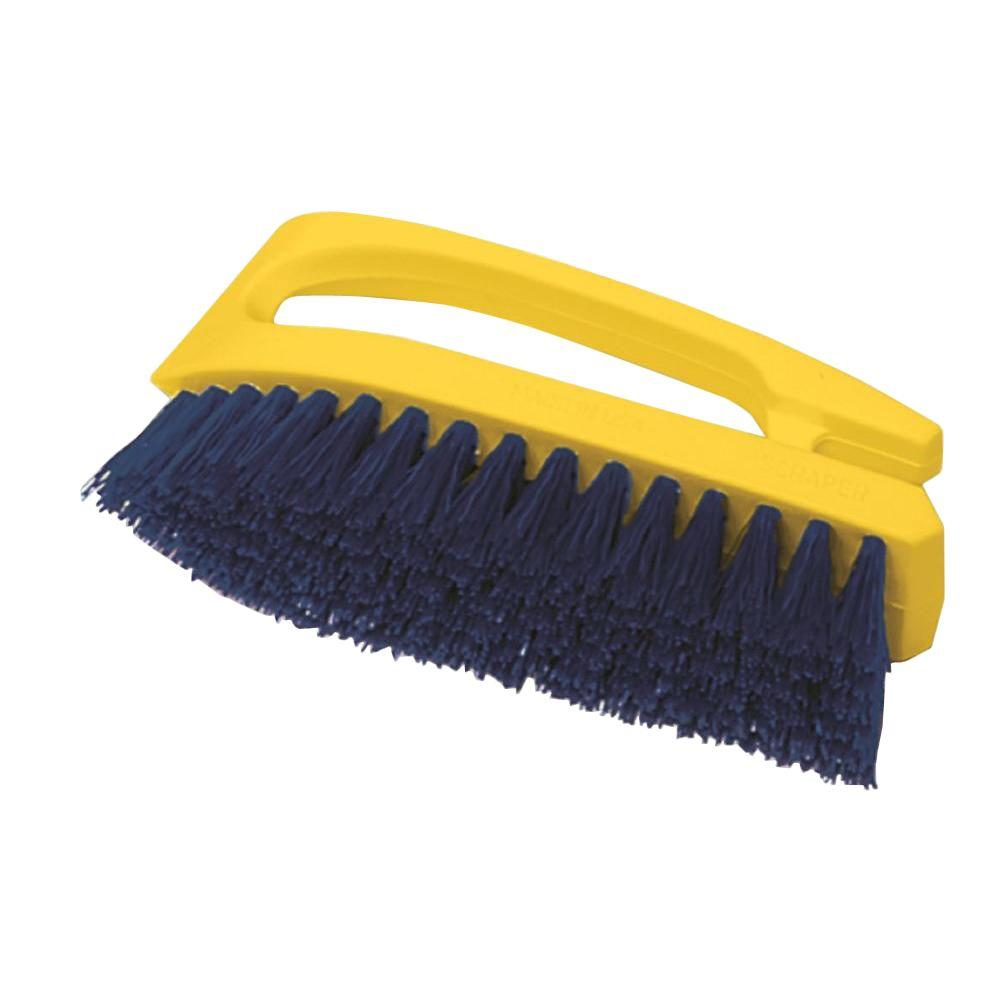Rubbermaid Commercial Products 6 in. Iron-Shaped Scrub Brush