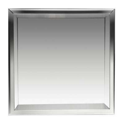 16 in. x 16 in. x 4 in. Niche in Polished Stainless Steel