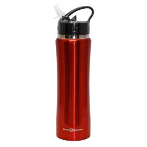 Green Canteen 25 oz. Red Stainless Steel Double Wall Thermal Vacuum Bottle... by Green Canteen