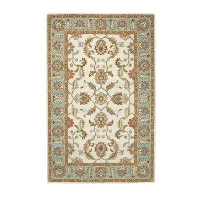 Aristocrat Ivory 9 ft. x 12 ft. Area Rug