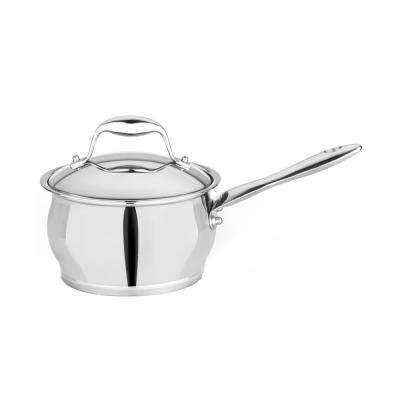 Essentials 2.1 Qt. Stainless Steel Covered Sauce Pan