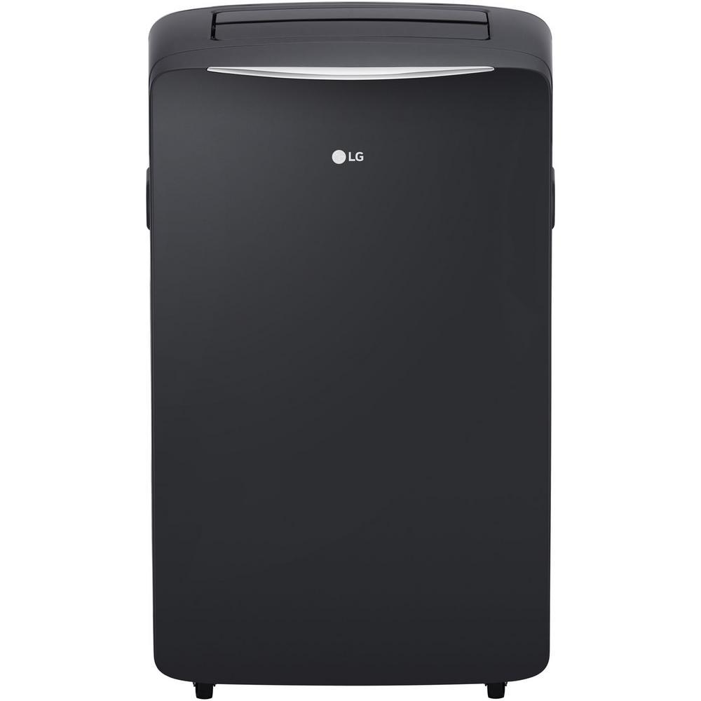 14,000 BTU (8,000 BTU,DOE) Portable Air Conditioner, 115-Volt, Dehumidifier Function and LCD Remote in Graphite