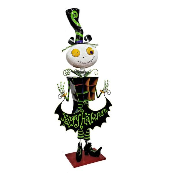 60 in. Iron Halloween Yard Decoration