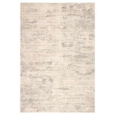 Magana Gray 8 ft. 10 in. x 11 ft. 9 in. Modern Area Rug